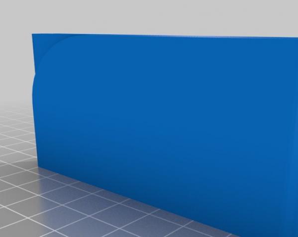 薄款钱夹 3D模型  图2