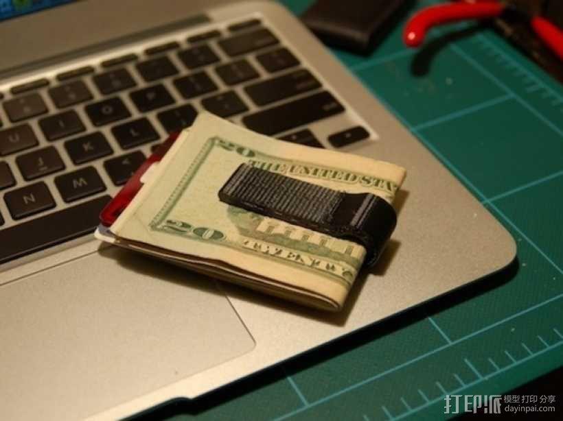 钱夹 3D模型  图4