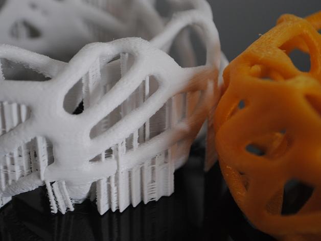泰森多边形 手镯 3D模型  图3
