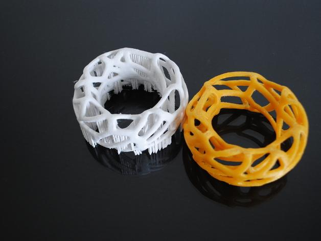 泰森多边形 手镯 3D模型  图4