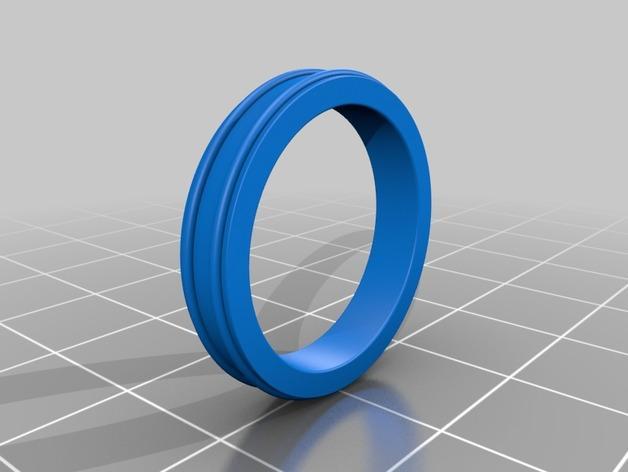 戒指 3D模型  图2
