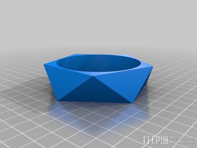 几何手镯 3D模型  图2