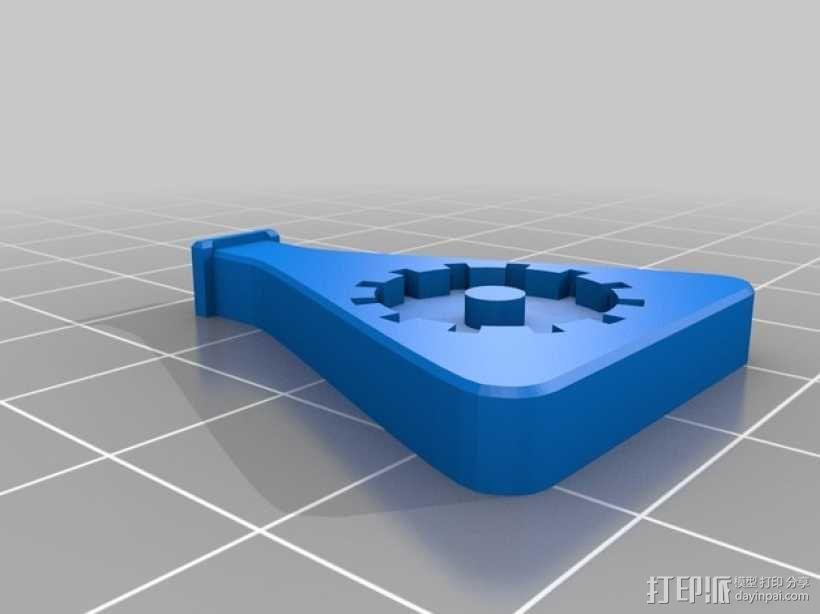 Deadlands徽章胸针 3D模型  图2