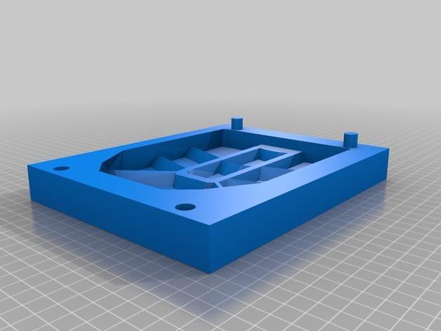 钢铁侠鞋子模具 3D模型  图3