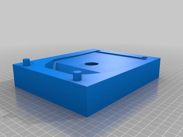 钢铁侠鞋子模具 3D模型  图4
