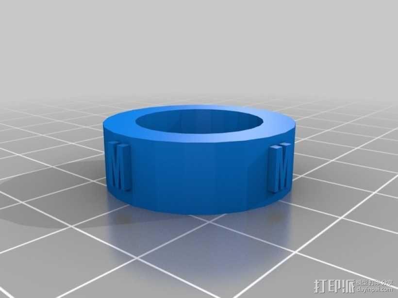 量规 3D模型  图2