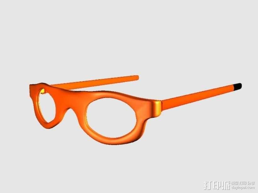 运动眼镜 3D模型  图1