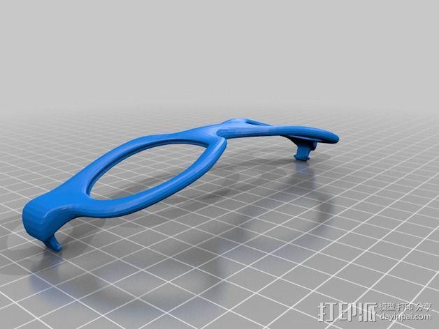 运动眼镜 3D模型  图3