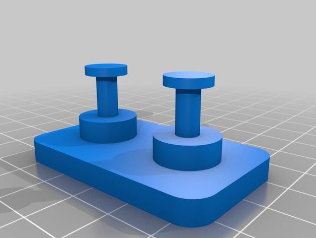 戒指架 3D模型  图2