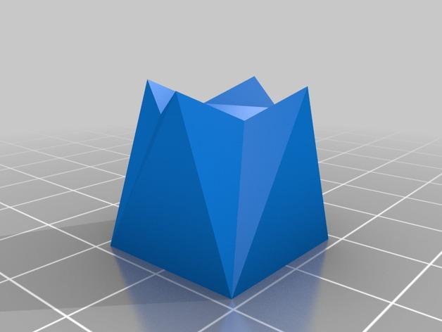 手镯展示架 3D模型  图2