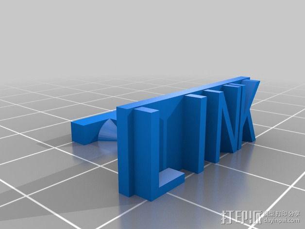 袖扣 3D模型  图3
