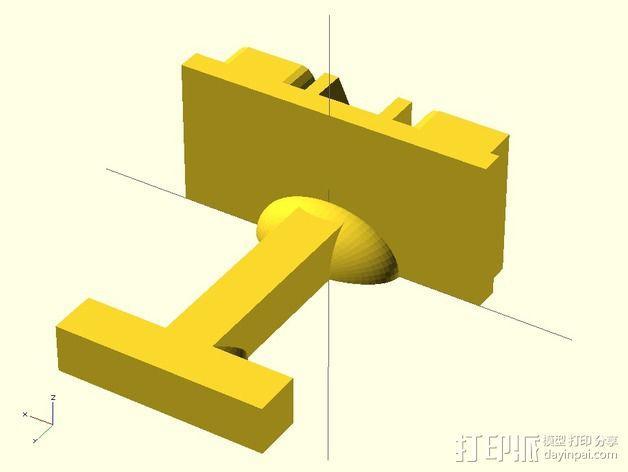 袖扣 3D模型  图7