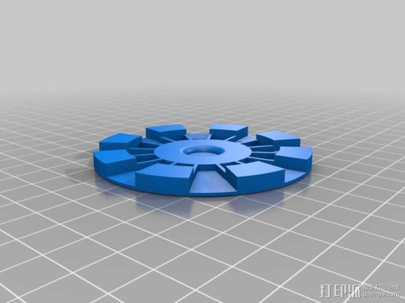 钢铁侠能量环 3D模型  图3