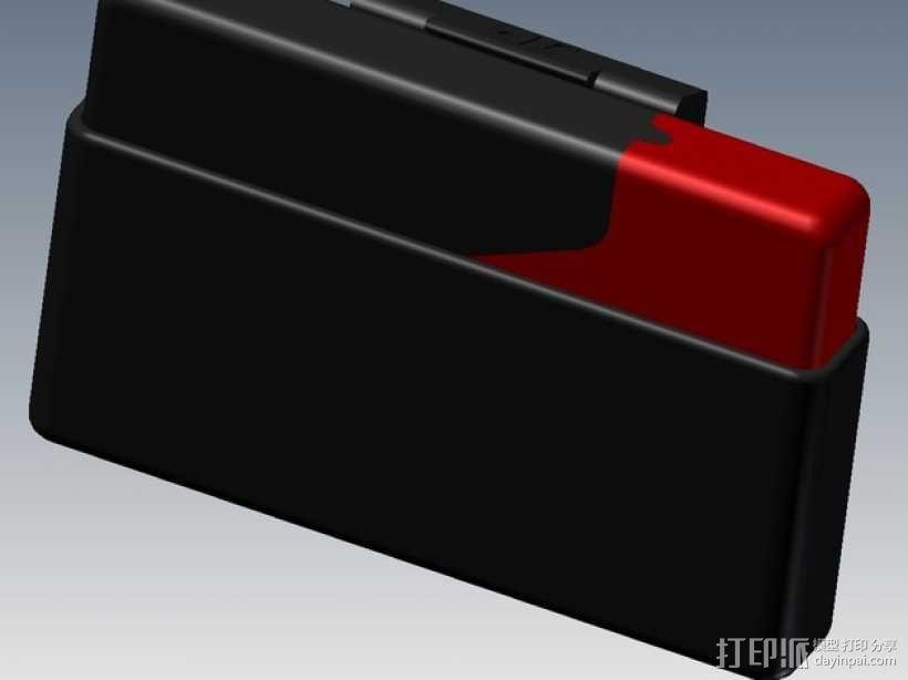 信用卡卡包 3D模型  图1