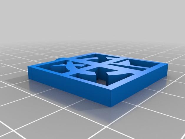 Geocaching地理藏宝  吊坠 3D模型  图2