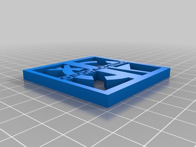 Geocaching地理藏宝  吊坠 3D模型  图3