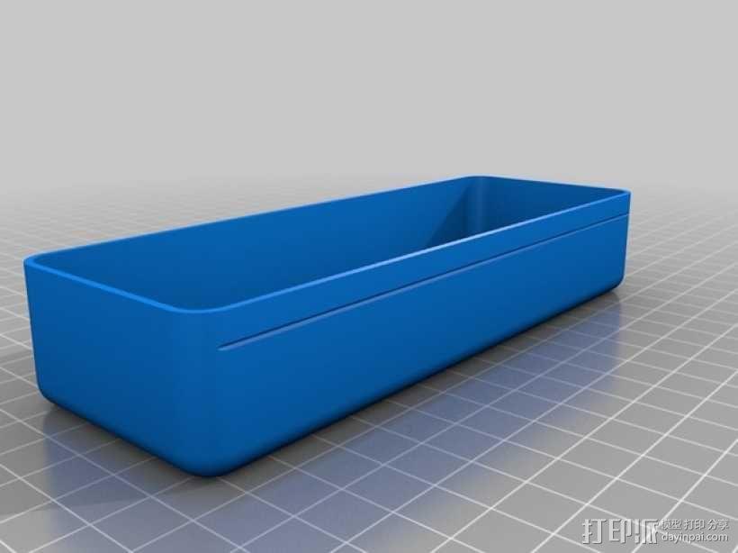 太阳镜 眼镜盒 3D模型  图3