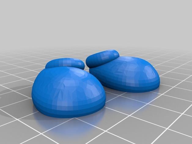 米奇项链 3D模型  图3