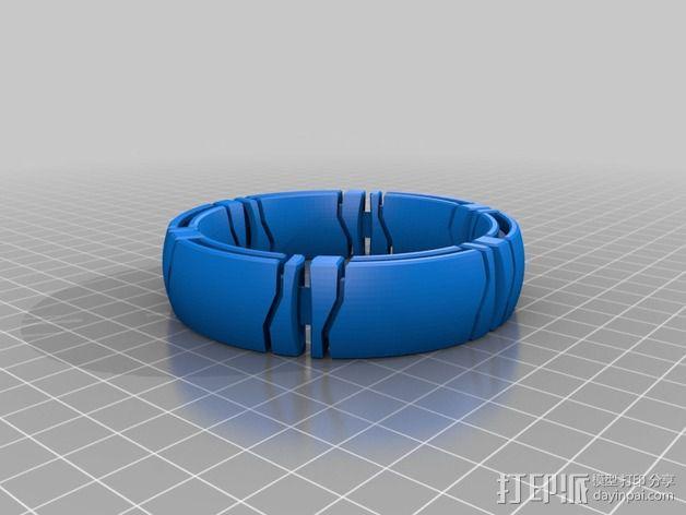 kimekomi手链 3D模型  图5