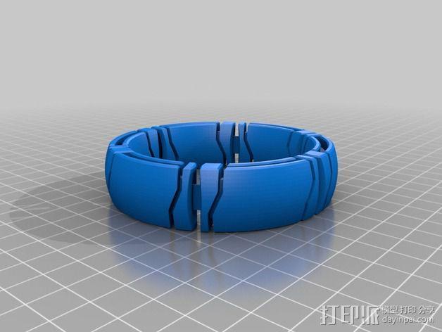 kimekomi手链 3D模型  图6