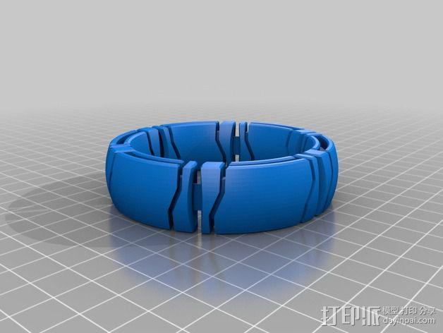 kimekomi手链 3D模型  图7