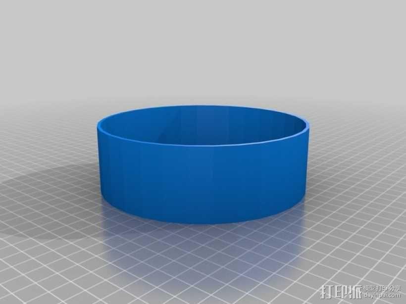 Adafruit扬声器箱 3D模型  图2