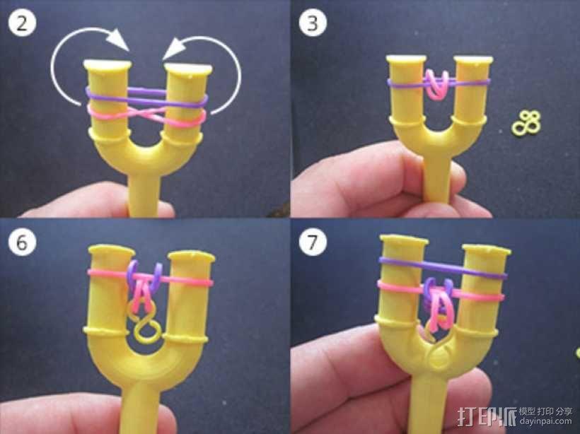 手链编织器 3D模型  图5