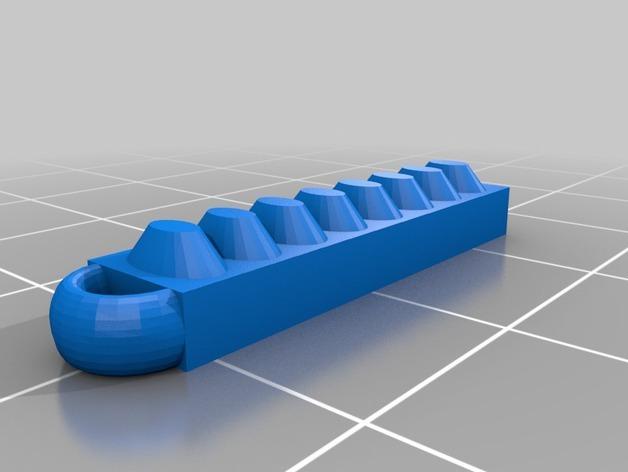 NeoPixel 传感条 衣饰 3D模型  图3