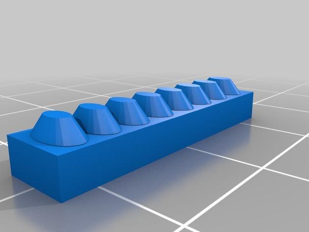 NeoPixel 传感条 衣饰 3D模型  图2