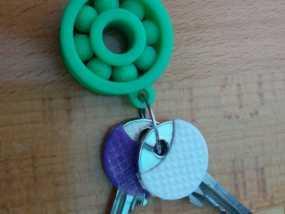 小轴承钥匙坠 3D模型