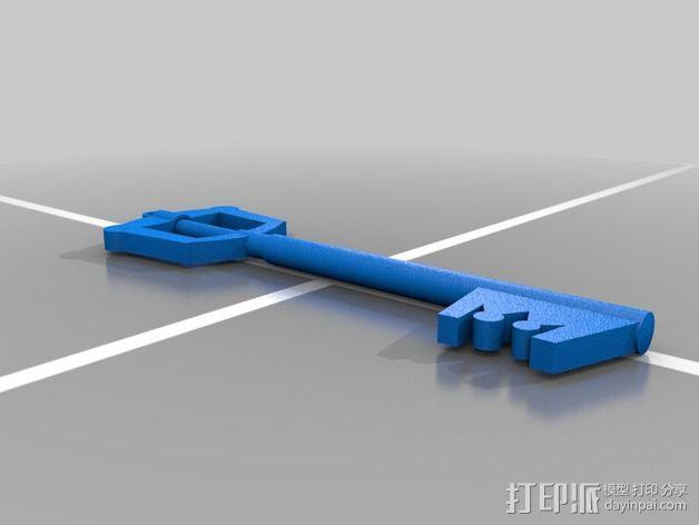 钥匙刃 键刃 3D模型  图2