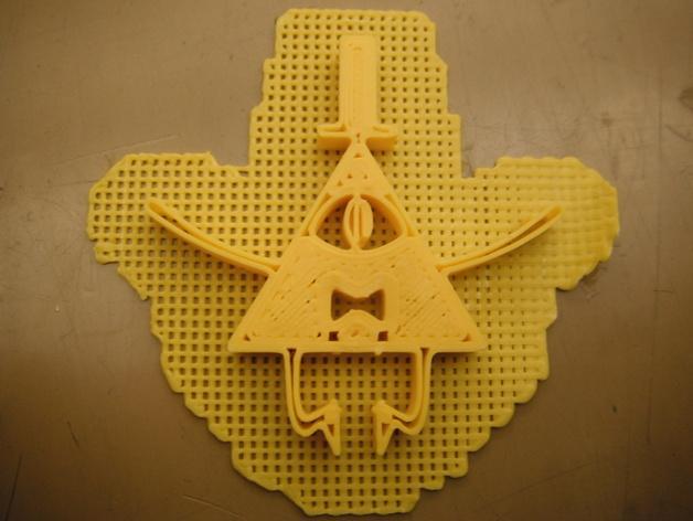 Bill Cipher吊坠 3D模型  图4