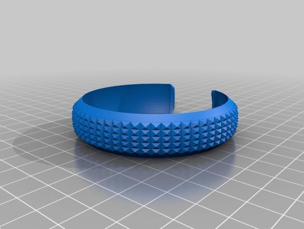 模块化的手镯 3D模型  图3