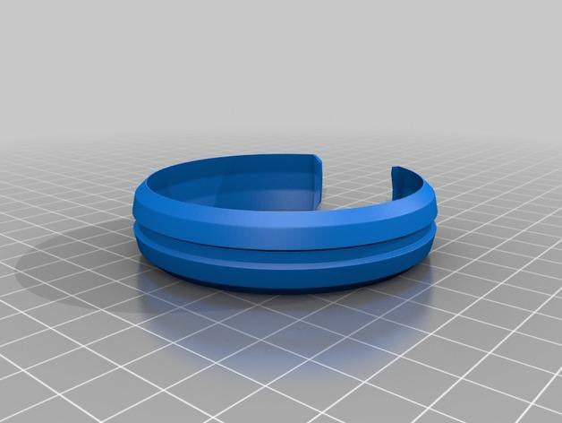 模块化的手镯 3D模型  图4