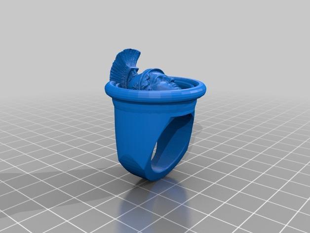 亚历山大大帝指环 3D模型  图3