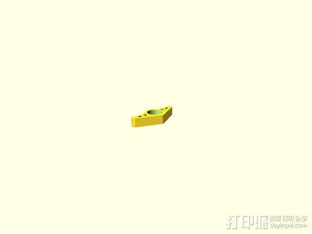 拇指环 3D模型  图3