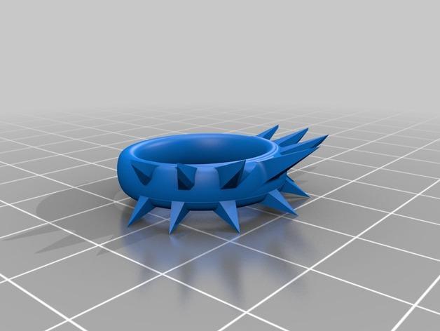 荆棘指环 3D模型  图2