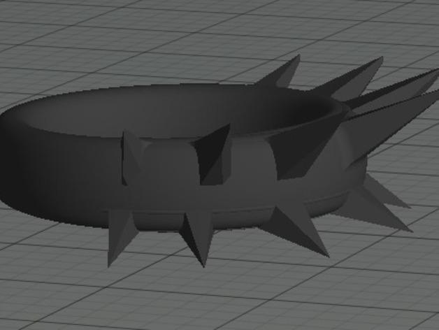 荆棘指环 3D模型  图3