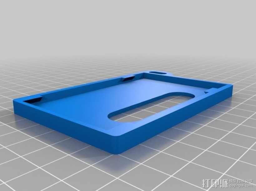 身份证 卡包 3D模型  图2