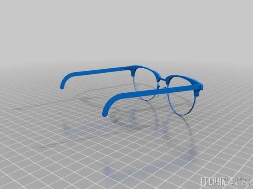 雷朋Ray-Ban太阳眼镜 3D模型  图1