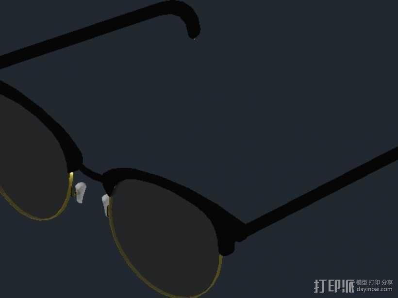 雷朋Ray-Ban太阳眼镜 3D模型  图5