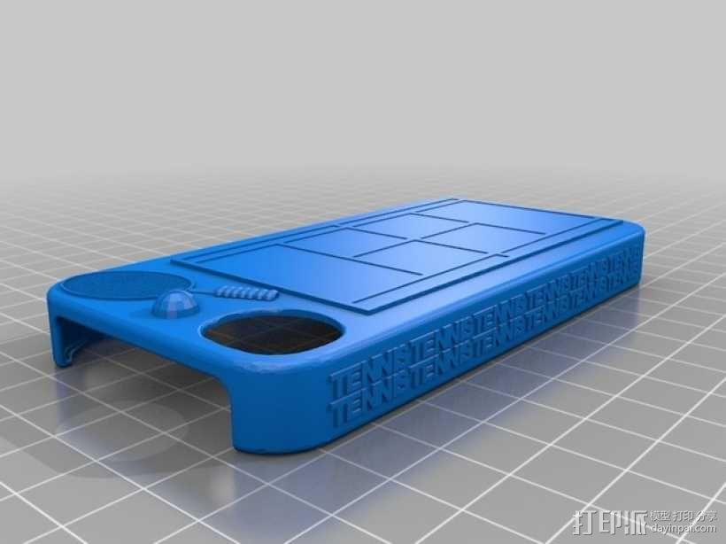 iPhone 4S 手机套 3D模型  图1