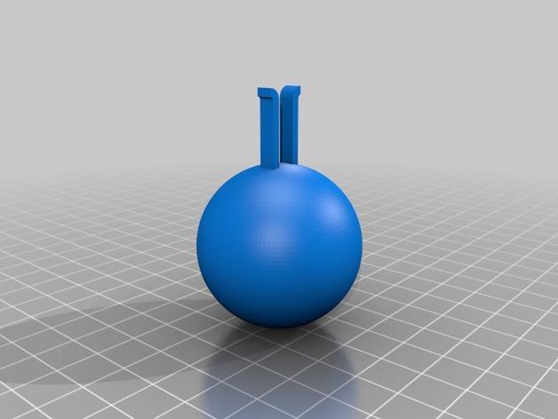 小球项链 3D模型  图2