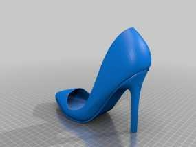 Pigalle高跟鞋 3D模型