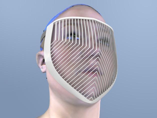 骑士面具 3D模型  图4
