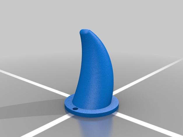 Karkat Vantas的角 3D模型  图2