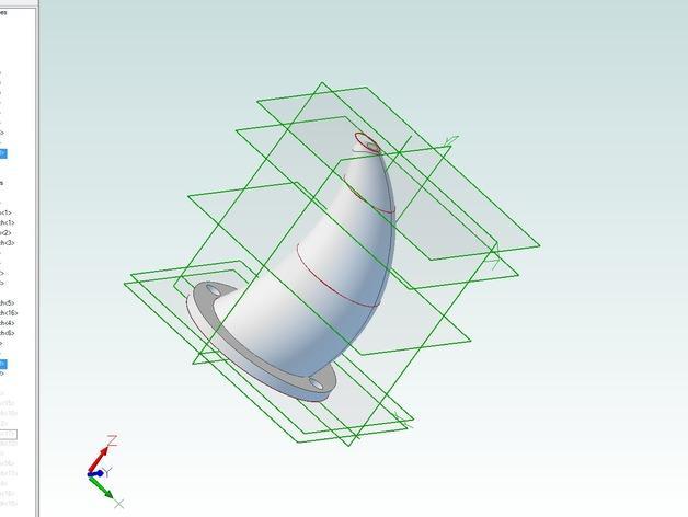 Karkat Vantas的角 3D模型  图3