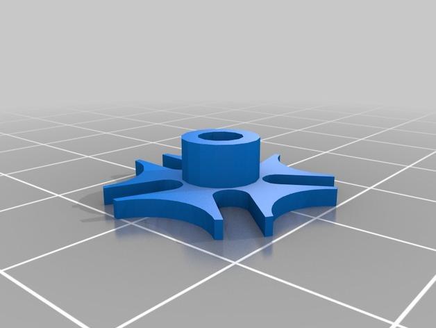 齿轮心形吊坠 3D模型  图7