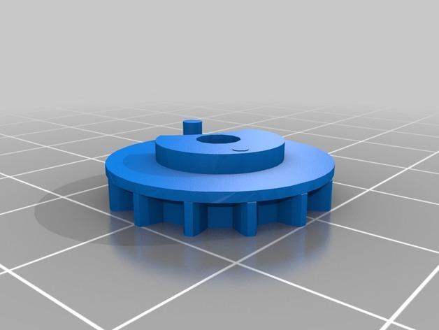 齿轮心形吊坠 3D模型  图8