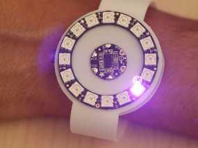动作感应 发光手表腕带 3D模型